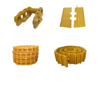 China for Oem Excavator Undercarriage Parts Bulldozer track pad track shoes supply to Gibraltar Supplier